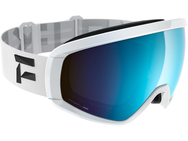 Flaxta Continuous Goggles white-blue mirror